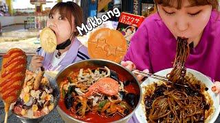 군산 줄서서 먹는 짬뽕 맛집 복성루 먹방 (짜장면, 철…