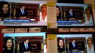Испания, цены на телевизоры.