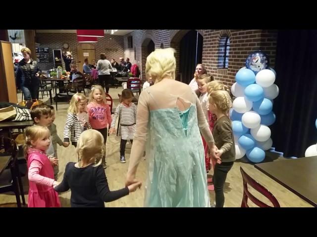 Dansen met Elsa en Olaf