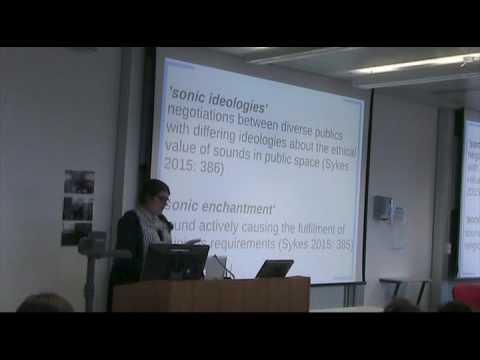 Geography, Music, Space - Jasmine Hornabrook (Goldsmiths, University of London)