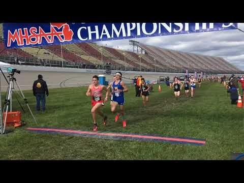2018 MHSAA Division 1 boys cross country All-State finishes