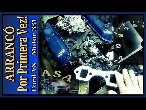 ARRANCÓ, Ford V8, AJUSTE de MOTOR, 351 ó 5.8