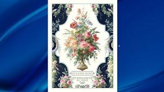 KT Exclusive обои English Rose(Компания Decoration Club представляет Вашему вниманию коллекцию дизайнерских обоев компании KT EXCLUSIVE. Каталог..., 2015-07-06T17:14:08.000Z)