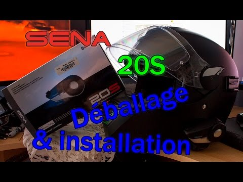 SENA 20S : Déballage & installation/présentation