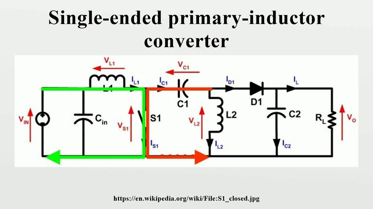 Single Ended Primary Inductor Converter