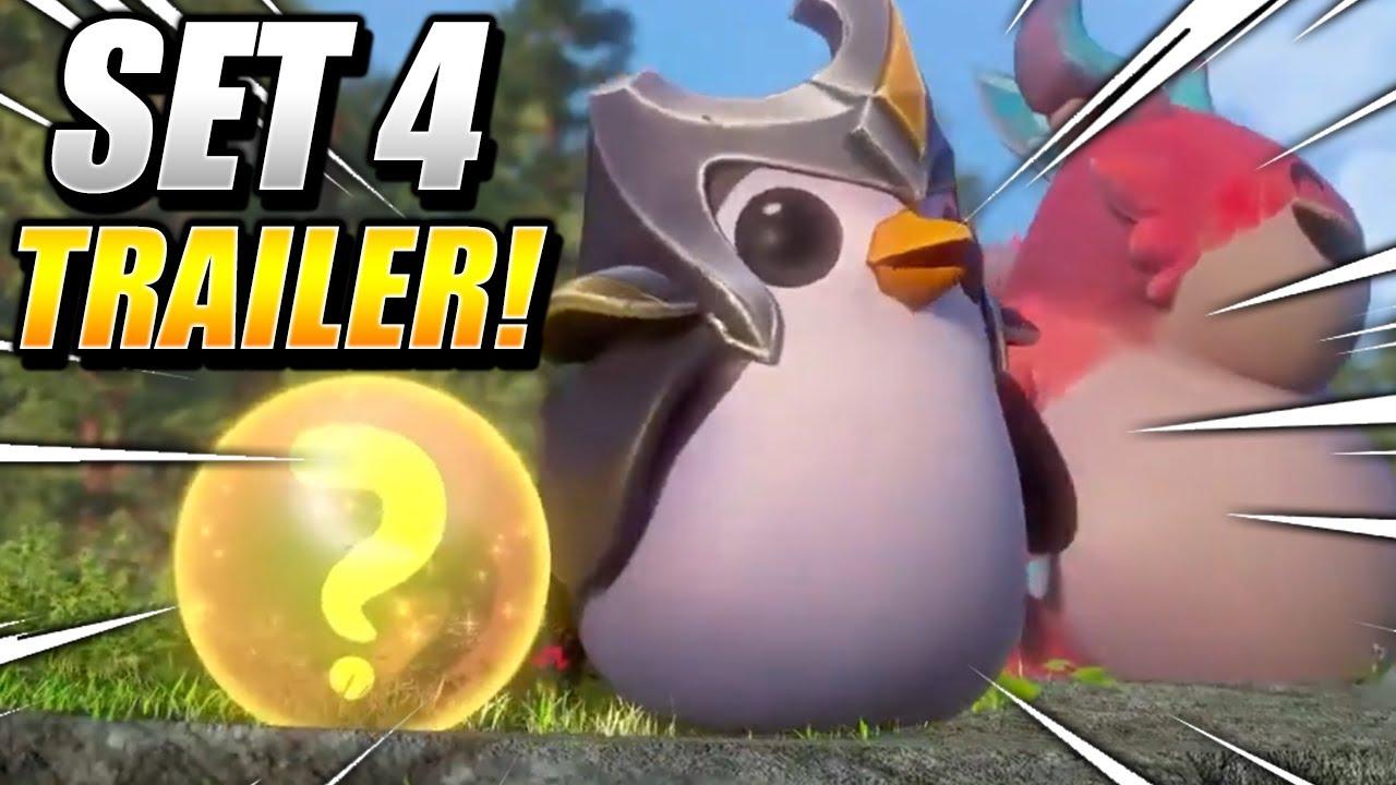 NEW SET 4 TFT TRAILER! - Teamfight Tactics FATES I League of Legends China lol Reveal