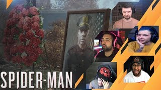 Gamers Reactions to SPOILER Officer Davis Tragedy Marvel& 39 s Spider Man
