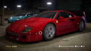 Need For Speed Ferrari F40 (1987) PS4 Gameplay