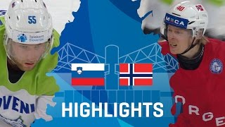 Slovenia - Norway | Highlights | #IIHFWorlds 2017