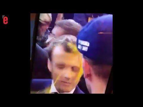 Emmanuel Macron reçoit