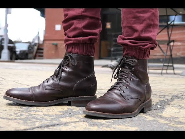 eb14821fc6be REVIEW  Why Thursday s Captain Boot Is My Favorite Shoe - YouTube