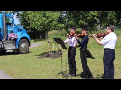 Milton School of Music Performs at Milton Garden Day 2016