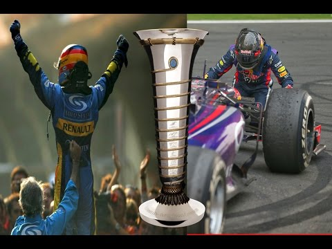 F1 drivers celebrating their world championship (team radios)