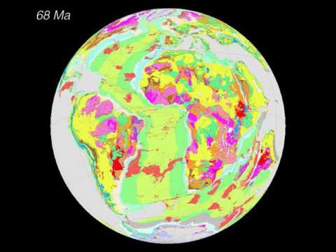 Reconstruction of the CGMW2010 geological map of the world – Atlantic Ocean
