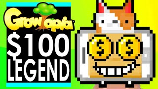 PCATS Spends $100 on LEGEND QUEST in GROWTOPIA!