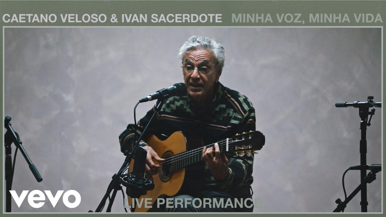 Caetano Veloso - Minha Voz, Minha Vida (Live Performance) | Vevo ft. Ivan Sacerdote