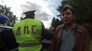 Таксист быдло-обочечник пошёл на таран, ДТП, ДПС, это он зачем так сделал.?