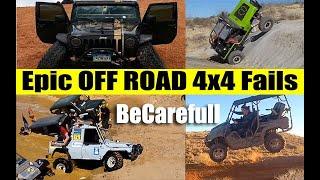 Epic Off Road Fails Compilation | Off Road 4x4 Fails | Compilation TV