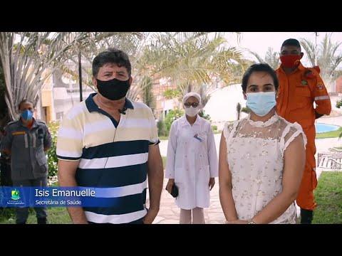 Prefeitura Municipal de Cuitegi (PB) distribui máscaras e álcool em gel para população