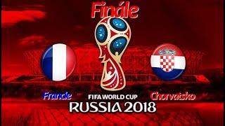 FIFA World Cup 2018 FINÁLE:Francie-Chorvatsko/FIFA 18 Let's Play CZ/SK