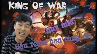 Khi KING OF WAR hướng dẫn chơi Jinx KC2 Mid theo meta mới =))