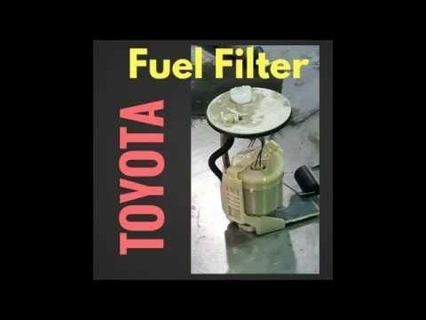 change fuel filter toyota camry 2006 2 4 liter doovi. Black Bedroom Furniture Sets. Home Design Ideas