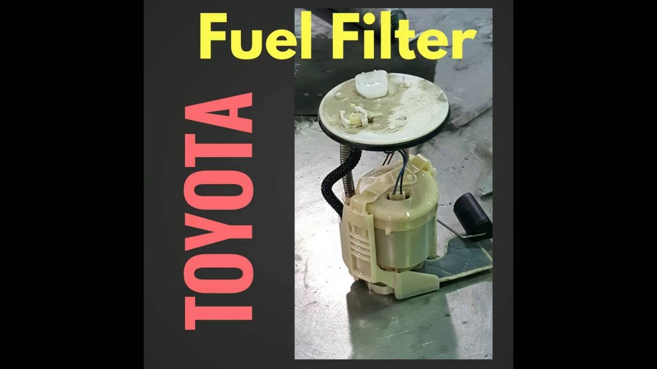 Toyota Camry 2013 Fuel Filter Replacement Youtube 2004 Location