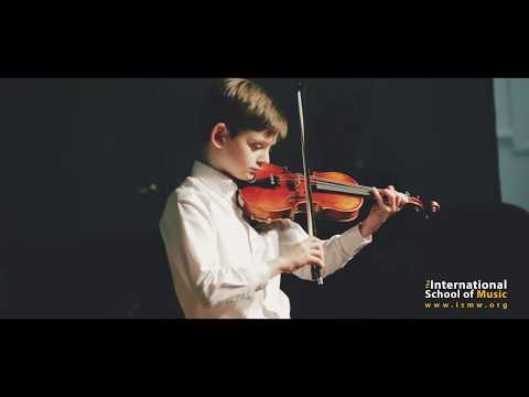 Violin Lessons at International School of Music in Bethesda, MD