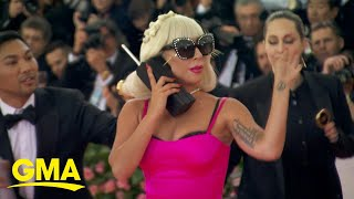 Lady Gaga's multiple outfits steal the spotlight at Met Gala l GMA