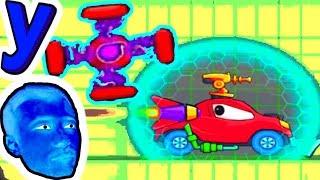 Хищные МАШИНКИ Догоняют ПРоХоДиМЦа в СЛОЖНОМ МИРЕ! #444 ИГРА для ДЕТЕЙ - Хищные Машинки 3