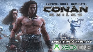 Conan Exiles - First Xbox One Gameplay Stream