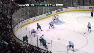 Toronto Maple Leafs vs San Jose Sharks 11.03.2014