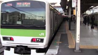 【山手線】品川駅入線発車 男性車掌の発車メロディ