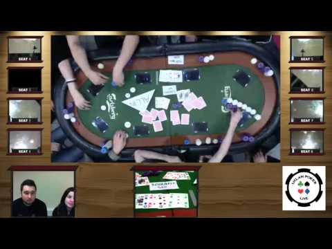 Live Poker League Week 4- Come join us for live hole card cam coverage!