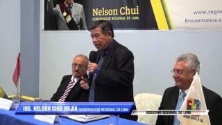 SE INAUGURAN OFICINA DEPARTAMENTAL Y ESCUELA NACIONAL DE ESTADÍSTICA E INFORMÁTICA EN HUACHO