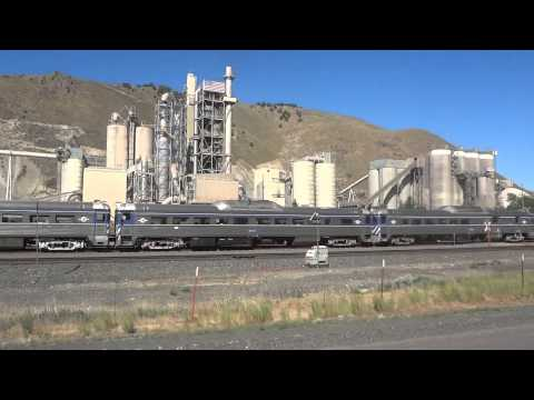 Driving by Cement Plant of I84 in Oregon and found these WDOT Budd Cars stored 6/30/2013