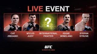 EA SPORTS UFC Mobile. Live Event - Junior dos Santos / Stefan Struve.