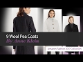 9 Wool Pea Coats By Anne Klein Amazon Fashion 2017 Collection