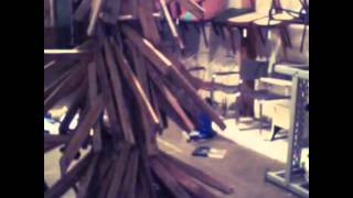 Pallet Wood Christmas Tree By Oltremare Designs 2014