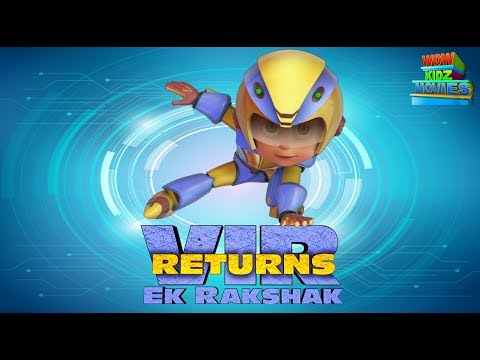 Vir The Robot Boy | Vir Ek Rakshak Returns | Full Movie | Animated Movie For Kids | Wow Kidz Movies