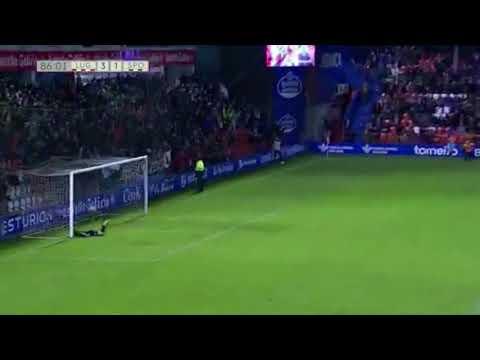 goalkeeper goal Lugo - S.Gijón