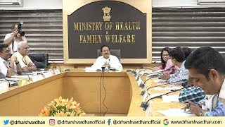 Meeting with Thalassemia Patents & Consultants at Nirman Bhawan