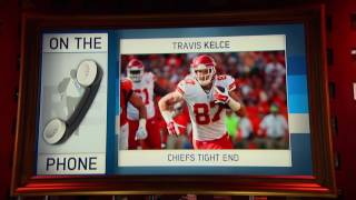 Kansas City Chiefs Pro Bowl TE Travis Kelce Explains Why He Threw His Towel At Ref -  11/15/16