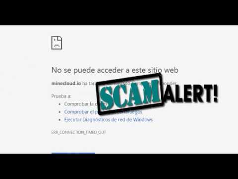 MINECLOUD SCAM