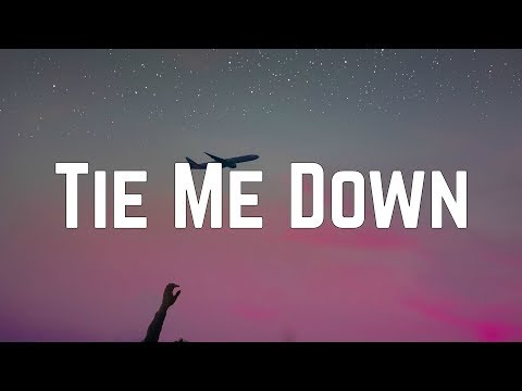 Gryffin - Tie Me Down Ft. Elley Duhé (Lyrics)