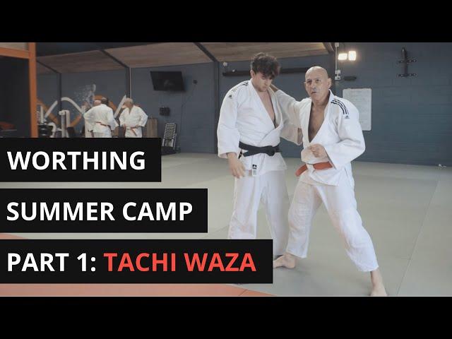 JFAUK Worthing Judo Summer Camp | Part 1 | Tachi Waza