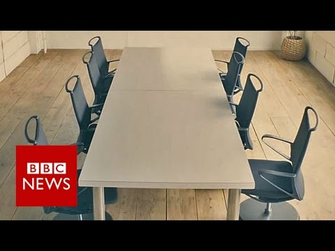 Nissan's self-parking robot chairs tidy up offices - BBC News