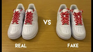 Supreme Nike Air Force 1 Low SS20 - REAL vs FAKE