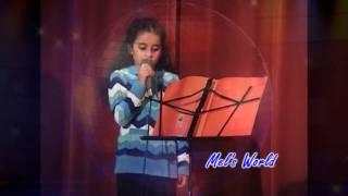 Aap Jaisa Koi Meri Zindagi Mein Aaye By Melissa at CCD Talent Show 2009