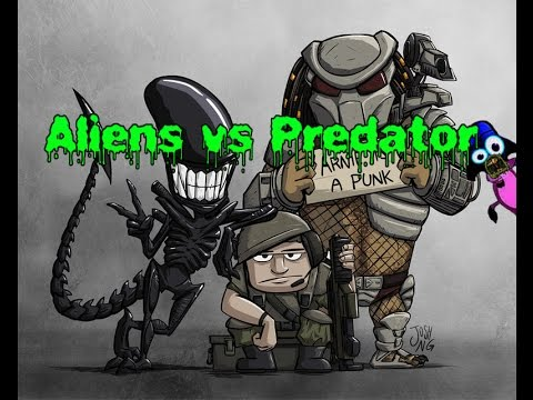 Funny Alien Vs Predator Pictures